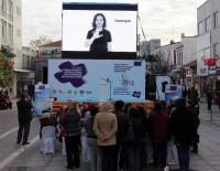 EDİRNE VALİLİĞİ - Kadına Karşı Şiddetle Mücadele Gezici Bilgi Merkezi TIR'ı Yola Çıktı