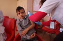 DİFTERİ - Lapseki'de, Öğrencilere Aşı Uygulaması