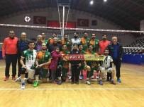 İRFAN BUZ - Malatya Büyükşehir Belediye Voleybol Takımı, Evinde Üçüncü Galibiyetini Aldı