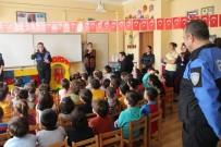 GÜVENLİ İNTERNET - Mersin Polisinden, Küçük Öğrencilere Bilgilendirme