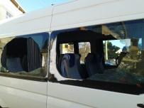 MİNİBÜS ŞOFÖRÜ - Tekirdağ'da Servis Minibüsü Tarandı Açıklaması 1 Yaralı