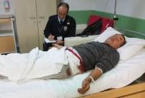 RÖNTGEN - TIR Sürücüsü Seyir Halindeki Aracının İçinde Vuruldu