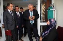 DOLULUK ORANI - Vali Zorluoğlu, Devredilen Asker Hastanesi'nde İncelemelerde Bulundu