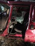 Afyonkarahisar'da 3 Araç Birbirine Girdi