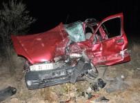 Afyonkarahisar'da Korkunç Kaza Açıklaması 3 Ölü, 4 Yaralı