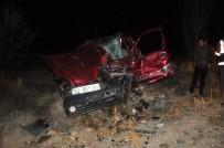 Afyonkarahisar'da Trafik Kazası Açıklaması 3 Ölü, 4 Yaralı