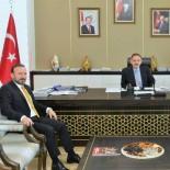 MEHMET ÖZHASEKI - Başkan Doğan, Çevre Ve Şehircilik Bakanı Mehmet Özhaseki'yi Ziyaret Etti