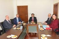 KOCAELİ VALİSİ - Başkan Köşker'den Vali Güzeloğlu'na Hizmet Sunumu