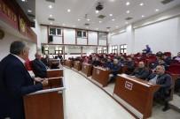 HASAN ALIŞAN - Başkan Toçoğlu, Taksiciler İle Bir Araya Geldi