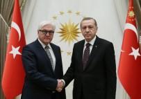 ALMANYA DIŞİŞLERİ BAKANI - Cumhurbaşkanı Erdoğan, Almanya Dışişleri Bakanı Steinmeier İle Görüştü