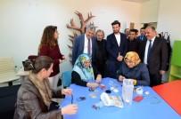 TEZHİP SANATI - Kültür Merkezine Vatandaşlardan Yoğun İlgi