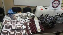 İÇKİ ŞİŞESİ - Mersin Polisinden Sahte İçki Operasyonu