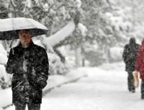 METEOROLOJI GENEL MÜDÜRLÜĞÜ - Meteorolojiden 'yoğun kar' uyarısı