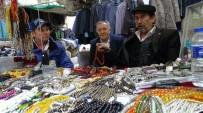 ULU CAMİİ - Kütahya'da 'Tespih'in Pazarı