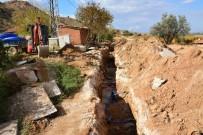 ŞEBEKE HATTI - Şahyar'ın İçme Suyu Hattı Yenileniyor