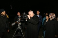 ASTRONOMI - 'Süper Ay', Ali Kuşçu Uzay Evi'nden Gözlemlendi