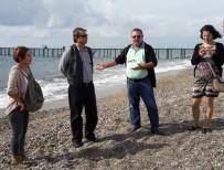 ÇEVRE İL MÜDÜRLÜĞÜ - Antalya Çevre İl Müdürlüğü'nden Kızılağaç Sahilinde İnceleme