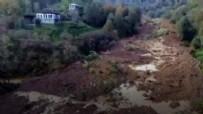 ARTVİN BELEDİYESİ - Artvin'de heyelan tehlikesi: 18 ev tahliye edildi