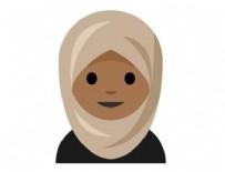 YAHUDILIK - Başörtülü kadın emoji'si telefonlara geliyor