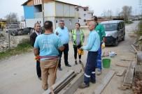 İŞ KAZASI - Kartepe Belediyesi, Saha Personelini İş Güvenliği Konusunda Gözlemliyor