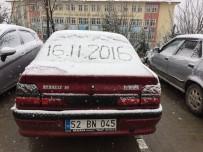 Ordu'da Kar Yağışı Başladı
