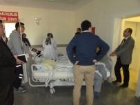 YANGIN TATBİKATI - Sandıklı Devlet Hastanesi'nde Yangın Tatbikatı