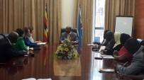 TARıM BAKANı - SANKON Genel Başkanı Atasoy, Uganda Başbakanı Rugunda'yı Ziyaret Etti