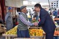PAZARCI ESNAFI - Silifke Belediye Başkanı Turgut, Pazarcı Esnafını Dinledi