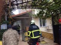 KOPUZ - Sinop'ta Korkutan Yangın