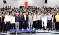 DERS PROGRAMI - Tiyatro Sanatçıları, MTOSB'de Meslek Lisesi Öğrencileriyle Buluştu