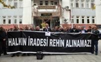 İL BAŞKANLARI - Tunceli'de Gözaltı Protestosu