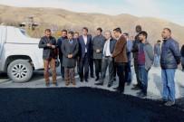 MEHMET EMİN TAŞÇI - Vali Toprak Asfalt Çalışmalarını Denetledi