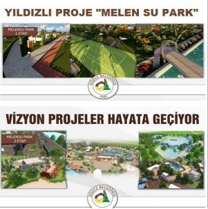 Yıldızlı Proje 'Melen Su Park'  Oldu
