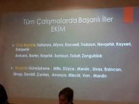 İL BAŞKANLARI - AK Parti İl Teşkilatı En Başarılı İller Arasında Yer Aldı