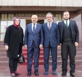 İL BAŞKANLARI - Başkan Köşker'den Ankara'da Temasları