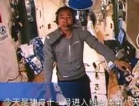 UZAY İSTASYONU - Çin'in 'astronot gazetecileri' uzaydan bildirdi