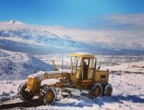 Erzincan'da 127 Köy Yolu Ulaşıma Kapandı