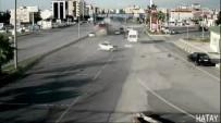 ALI ÇELIK - Freni Patlayan Yolcu Otobüsünün Dehşet Saçtığı Anlar MOBESE'ye Yansıdı