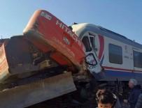 TREN KAZASı - İzmir'de tren kazası