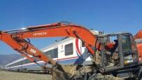 YOLCU TRENİ - İzmir'de tren kazası