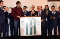 MUHAMMED AK - Konyaspor Formasının Geliri Şehit Aileleri Derneği'ne Bağışlanacak