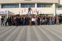 CAHIT ZARIFOĞLU - Liselilerden Özel Harekat Daire Başkanlığı'na Ziyaret