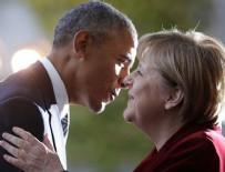 DEVLET TELEVİZYONU - Obama'dan Merkel'e veda öpücüğü