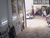 PATLAMA ANI - Ölümden kıl payı kurtuluş kamerada