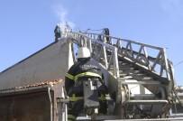 İTFAİYE ERİ - Tekirdağ'da Korkutan Yangın