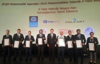 YETKINLIK - Alo 153 İstanbul'a 4 Yıldızlı Mükemmellik Ödülü