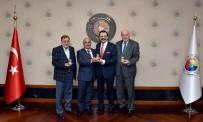 HALIM METE - Bilecik TSO Başkanı Ateş'ten TOBB Başkanı Hisarcıklıoğlu'na Ziyaret