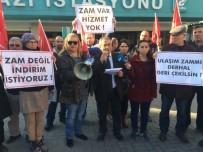 METRO İSTASYONU - Bursa'da Ulaşım Zammına Tepkiler Dinmiyor
