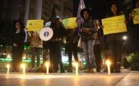 OTURMA EYLEMİ - Cinsel İstismar Önergesine Cadı Şapkalı Protesto