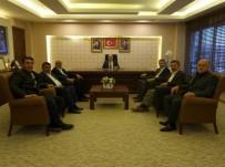 PANCAR EKİCİLERİ KOOPERATİFİ - Kayseri Şeker'den AK Parti Kayseri İl Başkanlığı'na Ziyaret